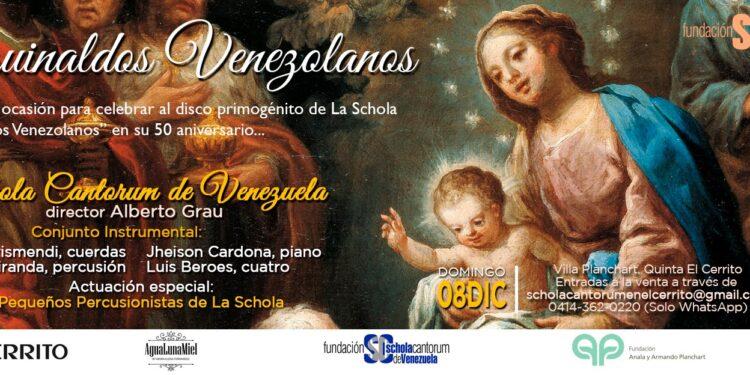 Aguinaldos Venezolanos en El Cerrito con la Schola Cantorum de Venezuela